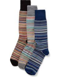 Paul Smith | Multicolor 3 Pack Socks for Men | Lyst