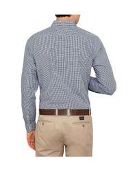 Tommy Hilfiger - Blue Devan Check Shirt for Men - Lyst