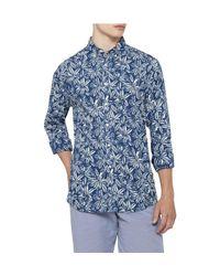 Tommy Hilfiger - Blue Indigo Double Floral Prt Nf3 for Men - Lyst