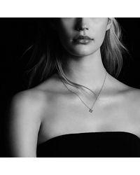 David Yurman - Green Venetian Quatrefoil® Necklace With Emerald And Diamonds In 18k Gold - Lyst