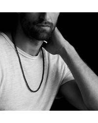 David Yurman - Brown Spiritual Bead Necklace With Tiger's Eye for Men - Lyst