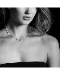 David Yurman - Metallic Venetian Quatrefoil Chain Necklace With Diamonds In 18k Gold - Lyst