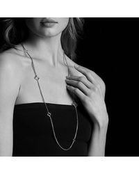David Yurman - Metallic Quatrefoil Chain Necklace With Gold - Lyst