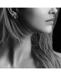 David Yurman - Blue Châtelaine Stud Earrings With Amethyst And Gray Diamonds - Lyst