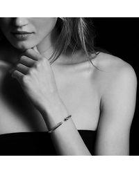 David Yurman - Metallic Cable Classics® Bracelet With Garnet With 14k Gold, 5mm - Lyst