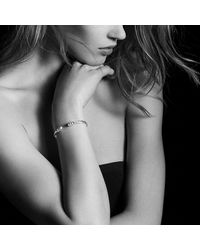 David Yurman - Metallic Helena End Station Bracelet With Pearls, Diamonds And 18k Gold, 4mm - Lyst