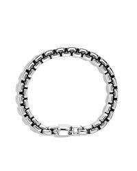 David Yurman - Metallic Box Chain Bracelet, 7.5mm for Men - Lyst
