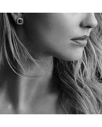 David Yurman - Brown Albion® Earrings With Smoky Quartz, Diamonds And 18k Gold - Lyst