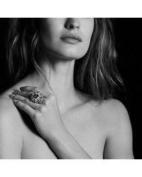 David Yurman - Metallic Starburst Ring With Amethyst And Diamonds - Lyst