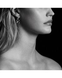 David Yurman - Metallic Châtelaine® Drop Earring With Hematine And Diamonds - Lyst