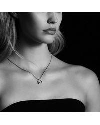 David Yurman - Yellow Châtelaine Pendant Necklace With Lemon Citrine And Diamonds, 11mm - Lyst