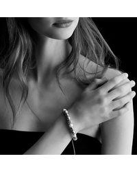 David Yurman   White Dy Elements Bracelet With Pearls   Lyst