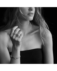 David Yurman | Metallic Labyrinth Single-loop Bracelet | Lyst