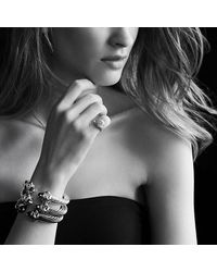 David Yurman - Gray Renaissance Bracelet - Lyst