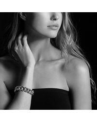 David Yurman | Metallic Belmont Curb Link Bracelet With 18k Gold, 18mm | Lyst