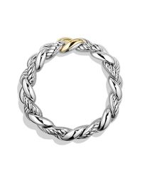 David Yurman - Metallic Bracelet With 18k Gikd - Lyst