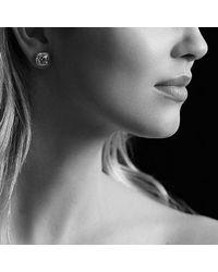 David Yurman - Petite Albion Earrings With White Topaz And Diamonds - Lyst