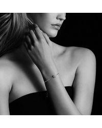 David Yurman - Metallic Petite Pave Bracelet With Yellow Sapphire - Lyst