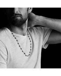 David Yurman - Spiritual Rosary Bead Necklace In Black Onyx for Men - Lyst