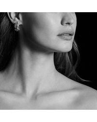 David Yurman - Metallic Crossover Earrings - Lyst
