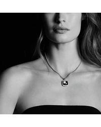 David Yurman - Metallic Albion® Pendant With Hematine And Diamonds, 17mm - Lyst