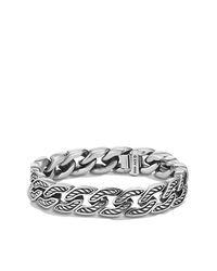 David Yurman - Metallic Maritime Sterling Silver Curb Link Bracelet for Men - Lyst