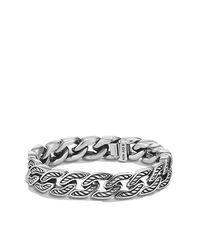 David Yurman | Metallic Maritime Curb Link Bracelet, 11.5mm for Men | Lyst