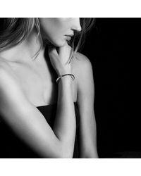 David Yurman - Metallic Osetra Bangle Bracelet With Hematine, 5mm - Lyst