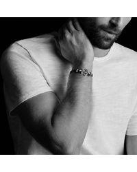 David Yurman - Metallic Pavé Anchor Bracelet With Black Diamonds for Men - Lyst