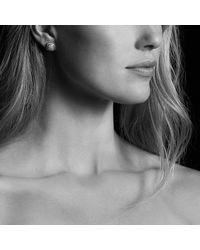 David Yurman | Petite Albion Earrings With Black Diamonds | Lyst