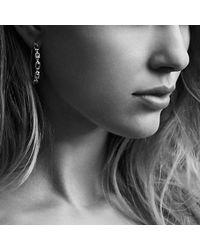 David Yurman | Metallic Confetti Hoop Earrings With Blue Topaz And Hampton Blue Topaz | Lyst