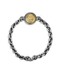 David Yurman - Metallic Petrvs Lion Bracelet With 18k Gold for Men - Lyst