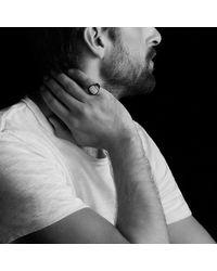 David Yurman - Metallic Pavé Pinky Ring With Black Diamonds for Men - Lyst