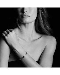 David Yurman - Metallic Cable Classics Bracelet With Morganite And Diamonds, 5mm - Lyst