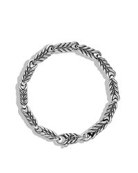 David Yurman - Metallic Chevron Link Bracelet for Men - Lyst
