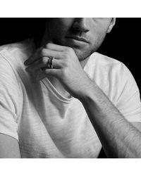 David Yurman - Metallic Streamline Three-row Band Ring With Gray Sapphires - Lyst