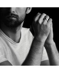 David Yurman - Metallic Streamline Band Ring With 18k Gold for Men - Lyst