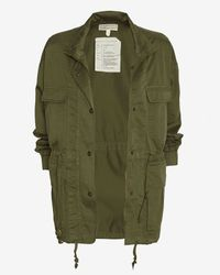 Current/Elliott - Green Leisure Parka - Lyst