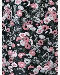 Giamba - Pink Sleeveless Floral Jacquard Dress - Lyst