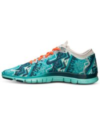57e8c070e870 Lyst - Nike Women S Free 5.0 Tr Fit 4 Training Sneakers From Finish ...