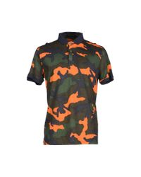 Valentino - Green Polo Shirt for Men - Lyst