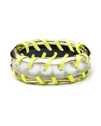 Alexis Bittar - Metallic Kinshasa Stitched Hinged Bracelet You Might Also Like - Lyst