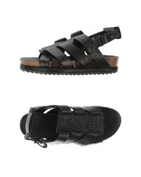 Surface To Air - Black Sandals - Lyst