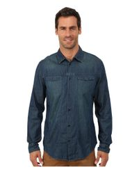 Calvin Klein Jeans | Blue Direct Dye Trucker for Men | Lyst