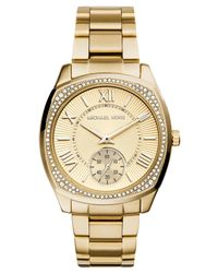 Michael Kors - Metallic Women'S Bryn Gold-Tone Stainless Steel Bracelet Watch 40Mm Mk6134 - Lyst