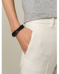 Étoile Isabel Marant - Black 'reading' Bracelet - Lyst