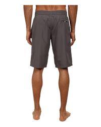 Dolce & Gabbana | Gray Long Length Swim Trunk for Men | Lyst
