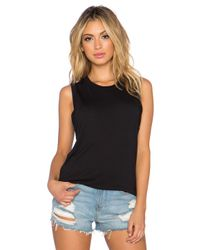 Getting Back to Square One Black The Muscle Tee