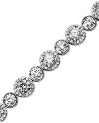 Arabella | Metallic Swarovski Zirconia Bracelet (22-9/10 Ct. T.w.) | Lyst