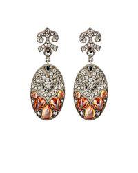Sevan Biçakci - Multicolor Women's Mixed-gemstone Oval Drop Earrings - Lyst